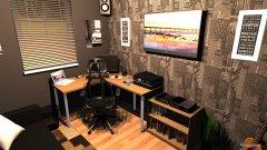 Raumgestaltung Office Room Concept in der Kategorie Arbeitszimmer
