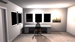 Raumgestaltung Oficina Luis in der Kategorie Arbeitszimmer