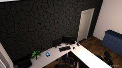 Raumgestaltung Papas Büro in der Kategorie Arbeitszimmer