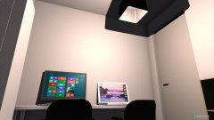 Raumgestaltung PC-Zimmer in der Kategorie Arbeitszimmer