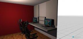 Raumgestaltung PC_Zimmer in der Kategorie Arbeitszimmer