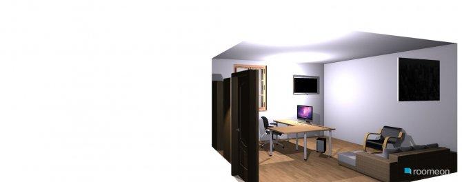 Raumgestaltung Peter Büro 2 in der Kategorie Arbeitszimmer