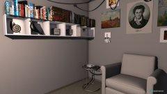 Raumgestaltung Pfeifenzimmer in der Kategorie Arbeitszimmer