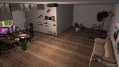 Raumgestaltung Photostudio in der Kategorie Arbeitszimmer