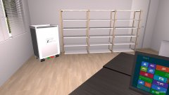 Raumgestaltung Plateraum in der Kategorie Arbeitszimmer