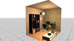 Raumgestaltung Pracovňa in der Kategorie Arbeitszimmer