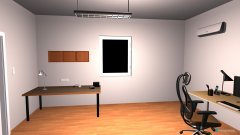 Raumgestaltung pracovna in der Kategorie Arbeitszimmer