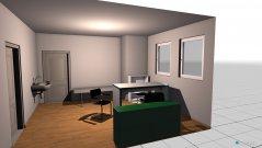 Raumgestaltung Praxis Veregge-Sprechzimmer 2 in der Kategorie Arbeitszimmer