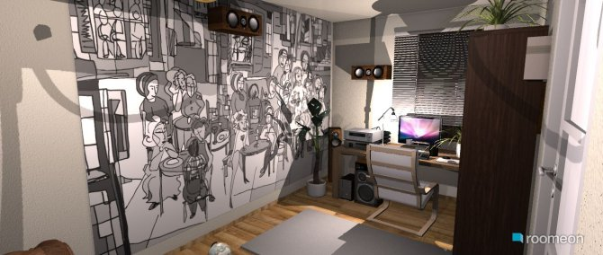 Raumgestaltung przemka pokoj in der Kategorie Arbeitszimmer