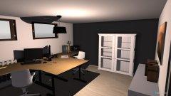 Raumgestaltung Püppi & Akki in der Kategorie Arbeitszimmer