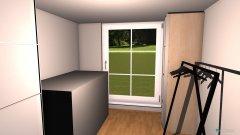 Raumgestaltung Puffzimmer in der Kategorie Arbeitszimmer