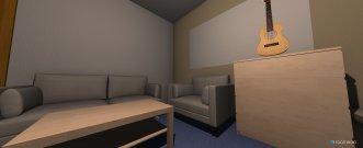 Raumgestaltung Raucherlounge in der Kategorie Arbeitszimmer