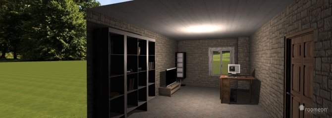 Raumgestaltung raum 001 in der Kategorie Arbeitszimmer