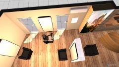 Raumgestaltung Raum 1 Friseursalon in der Kategorie Arbeitszimmer