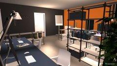 Raumgestaltung Raum 2 Gründungsschniede in der Kategorie Arbeitszimmer