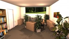 Raumgestaltung Raum 2 unser Büro in der Kategorie Arbeitszimmer