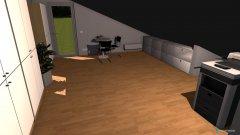 Raumgestaltung Raum Garage in der Kategorie Arbeitszimmer