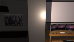 Raumgestaltung Raum2 in der Kategorie Arbeitszimmer