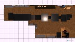 Raumgestaltung reflow-planung gedreht (wand korrigiert) umgestellt in der Kategorie Arbeitszimmer