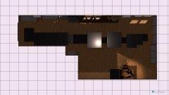 Raumgestaltung reflow-planung gedreht (wand korrigiert) in der Kategorie Arbeitszimmer