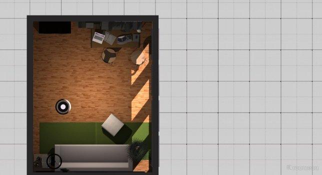 Raumgestaltung Rheinbach, Leseecke in der Kategorie Arbeitszimmer