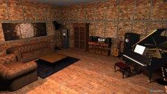 Raumgestaltung Robert Wohnzimmer in der Kategorie Arbeitszimmer