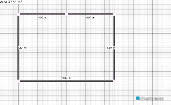 Raumgestaltung Rocha-teste in der Kategorie Arbeitszimmer