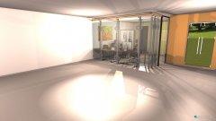 Raumgestaltung Rohform Hauptraum in der Kategorie Arbeitszimmer