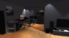 Raumgestaltung Rupertroom in der Kategorie Arbeitszimmer