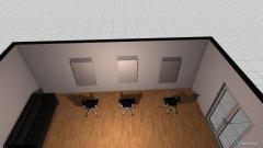 Raumgestaltung Salon Bahnhof in der Kategorie Arbeitszimmer