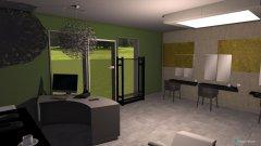 Raumgestaltung salon de coiffewur in der Kategorie Arbeitszimmer