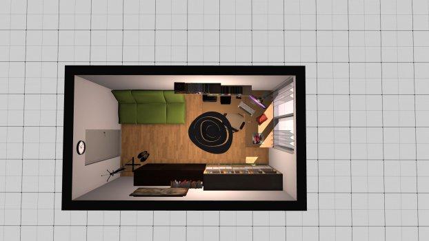 Raumgestaltung Schauer1 in der Kategorie Arbeitszimmer