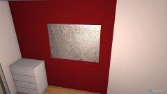 Raumgestaltung Schlafzimmer 2 in der Kategorie Arbeitszimmer