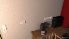Raumgestaltung Schlafzimmer Büro in der Kategorie Arbeitszimmer