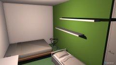Raumgestaltung schlafzimmer in der Kategorie Arbeitszimmer