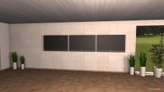 Raumgestaltung screenroom in der Kategorie Arbeitszimmer