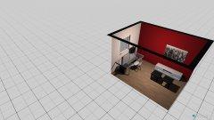 Raumgestaltung Shishazimmer in der Kategorie Arbeitszimmer