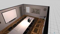 Raumgestaltung Sitzungszimmer Rom in der Kategorie Arbeitszimmer