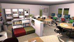 Raumgestaltung SLZ 1 in der Kategorie Arbeitszimmer