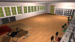 Raumgestaltung SLZ 2 in der Kategorie Arbeitszimmer
