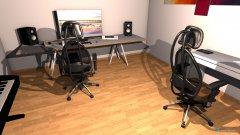 Raumgestaltung sstudio 2 in der Kategorie Arbeitszimmer