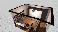 Raumgestaltung Stefans Büro in der Kategorie Arbeitszimmer