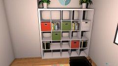 Raumgestaltung Stephies Büro in der Kategorie Arbeitszimmer