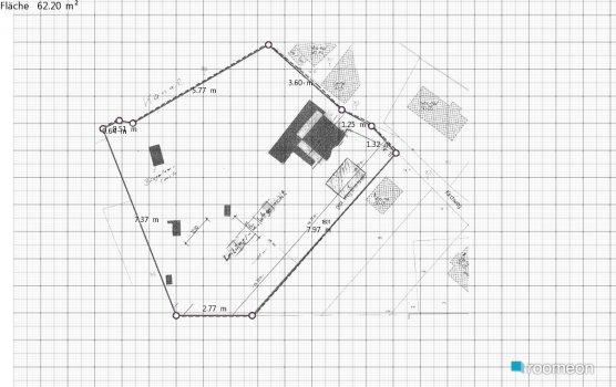 Raumgestaltung Storkow001 in der Kategorie Arbeitszimmer
