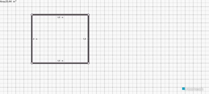 Raumgestaltung studeerkamer in der Kategorie Arbeitszimmer