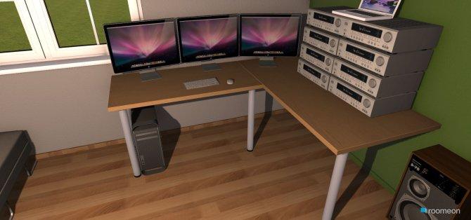 Raumgestaltung Studio (2) für 5 in der Kategorie Arbeitszimmer