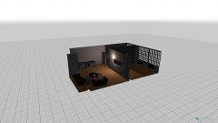 Raumgestaltung Studio Kontor in der Kategorie Arbeitszimmer