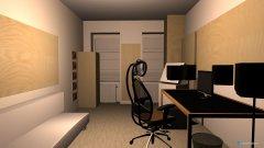 Raumgestaltung Studio-Raum Plan 2 in der Kategorie Arbeitszimmer