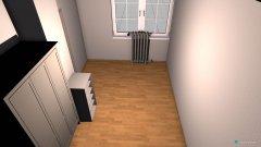 Raumgestaltung T-Zimmer Entwurf in der Kategorie Arbeitszimmer