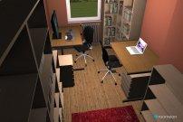 Raumgestaltung Testraum1 in der Kategorie Arbeitszimmer